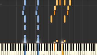 Mission Impossible Theme - Piano tutorial
