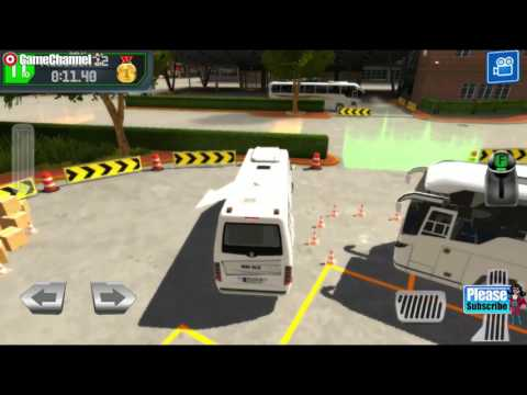 Bus Station Learn to Drive / Bus Simulator Games / Bus Parking / Android Gameplay Video