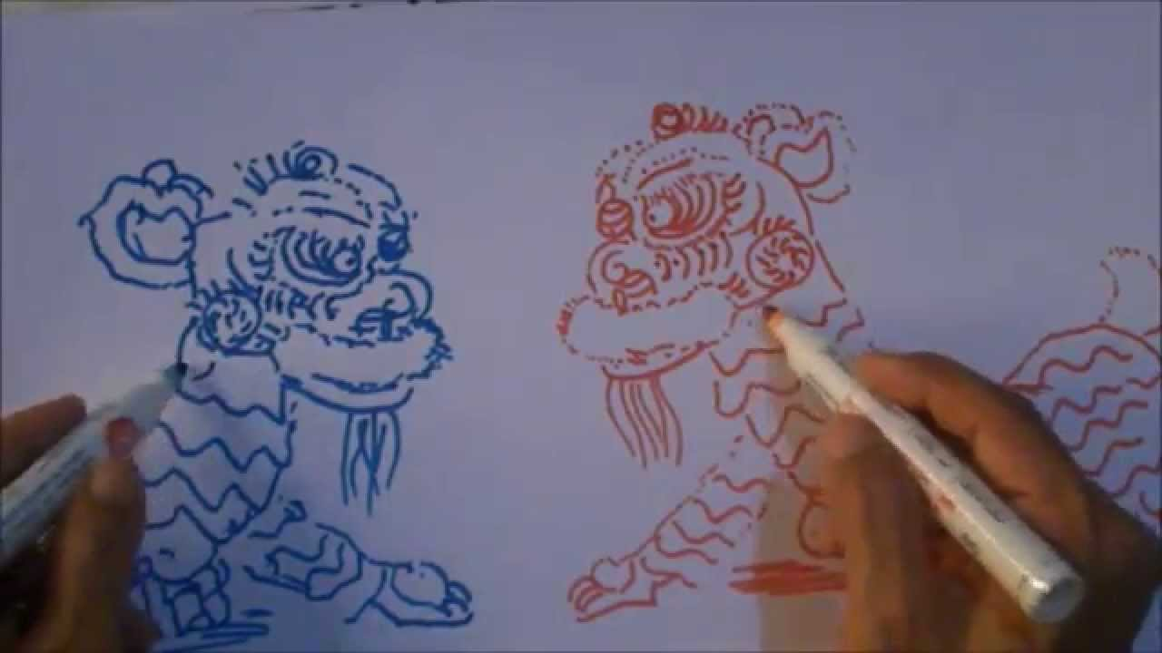 how to make lion dance