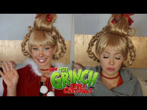 Cindy Lou Who Halloween Makeup Transformation | How the Grinch Stole Christmas