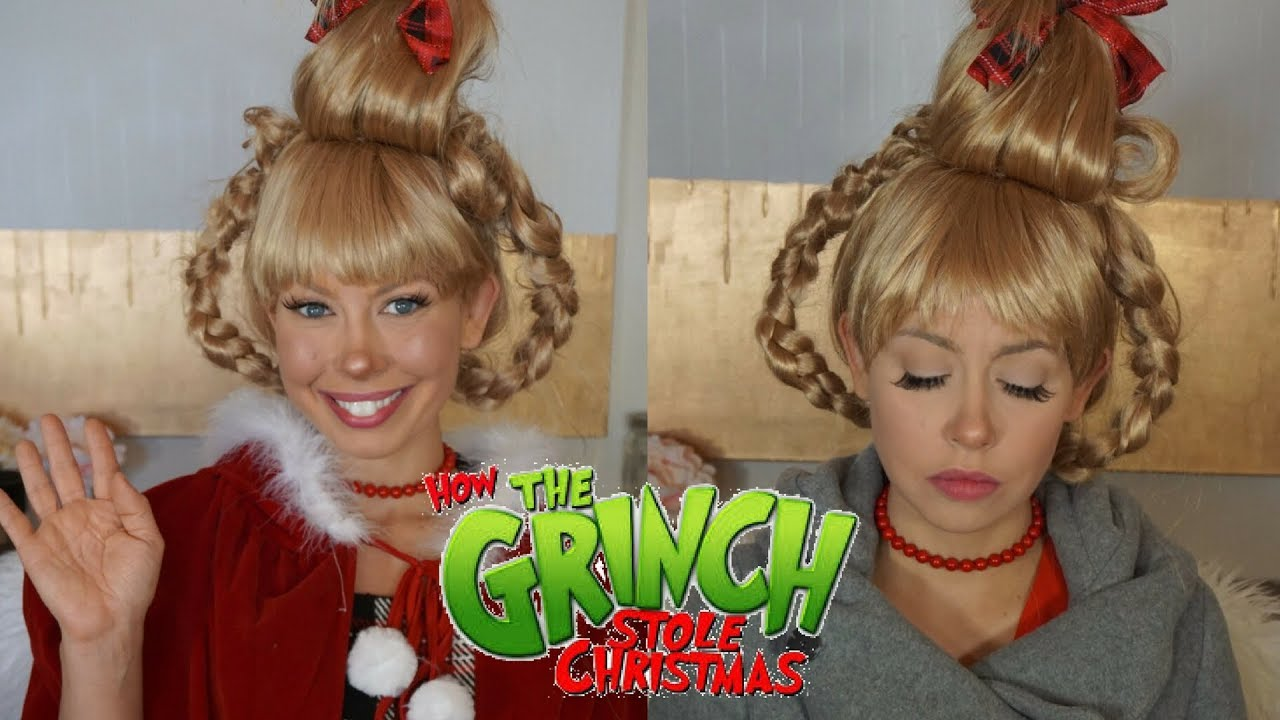Cindy lou who halloween makeup transformation how the grinch stole cindy lou who halloween makeup transformation how the grinch stole christmas solutioingenieria Images