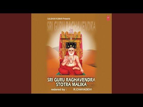 Sri Guru Raghavendra Astottara Satamalika Stotra
