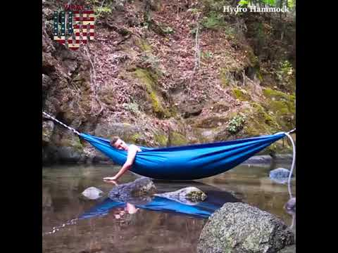 Hot Tub Hammock >> The Portable Hot Tub Hammock Youtube