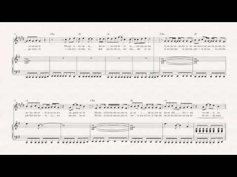 Alto Sax  Again  YUI   Sheet Music, Chords, & Vocals