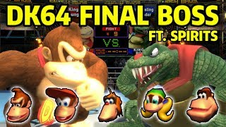 Donkey Kong 64's Final Battle Recreated in Super Smash Bros. Ultimate with Spirits