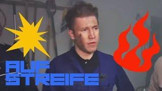 Explosion durch Kippe: Feuer in der Garage! | Auf Streife | SAT.1 TV