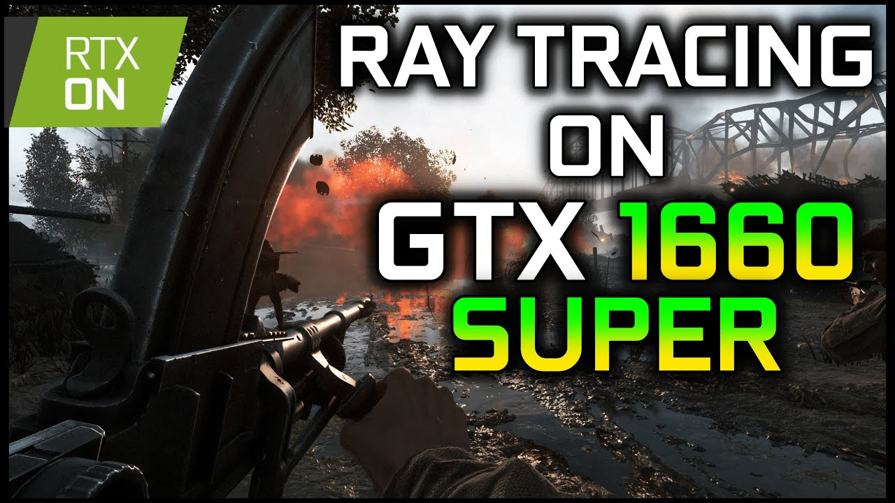RAY TRACING on GTX 1660 SUPER | IS THAT POSSIBLE? | Battlefield V 64 Players Rotterdam