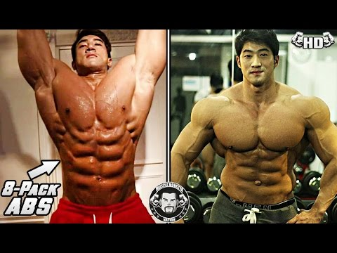 Natural Korean Bodybuilder Has The Most Famous 8-Pack Abs On Instagram