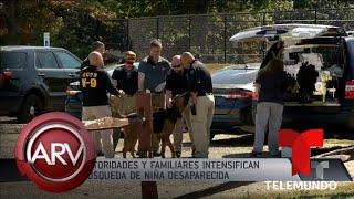Continúa la búsqueda de niña hispana secuestrada en Nueva Jersey | Al Rojo Vivo | Telemundo