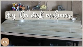 That's from IKEA?! DIY Ikea Desk or Dining Table
