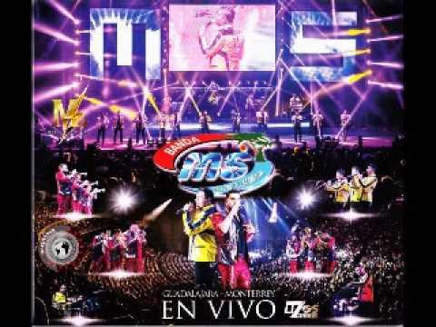 Banda MS En Vivo - Guadalajara - Monterrey (2015) Disco Completo
