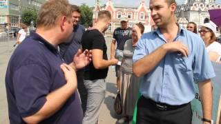 Пикет обманутых дольщиков, Саратов(, 2014-08-14T10:34:42.000Z)