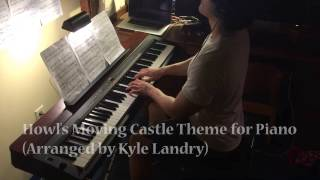Howl's Moving Castle Theme For Piano [Kyle Landry Arr]