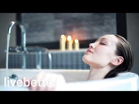 Muzyka do kąpieli lub prysznica elektroniczny chill out i relaks