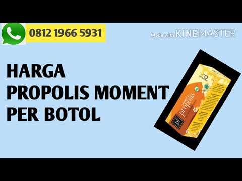 HARGA PROPOLIS MOMENT PER BOTOL WA 081219665931