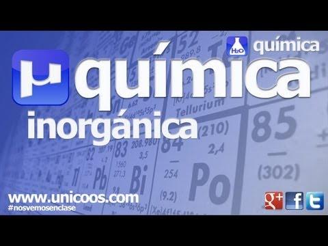 Inorganica 01 HIDRUROS oxidos SALES BINARIAS peroxidos unicoos quimica