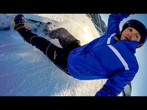 Snowboarding (and Face Planting) in Remote Western China