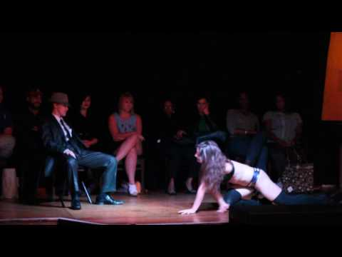 Michelle Rose - Floor work contortion