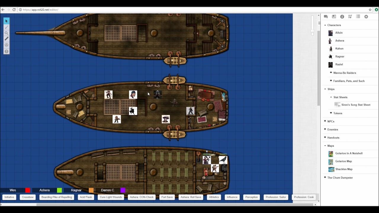 Pathfinder (Skulls and Shackles) Part 69 (Set Sail and Ship Combat  Tutorials)