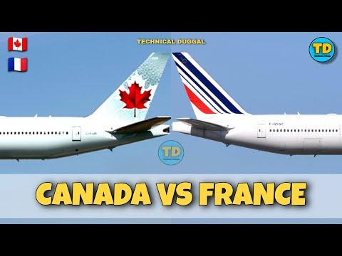 Air Canada Vs Air France Comparison 2020!