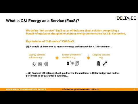 C&I Energy as a Service: What is the opportunity and how to capture it?