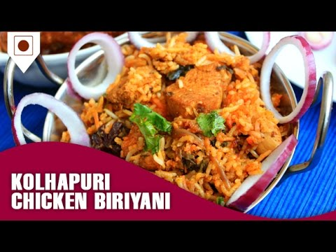 Kolhapuri chicken biriyani recipe kolhapuri chicken biriyani recipe easy cook with food junction forumfinder Images