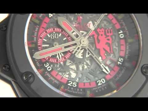 73816174c5a Hublot King Power Red Devil for Manchester United - YouTube