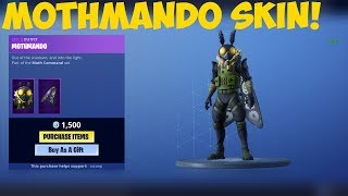NEW Mothmando Skin! Fortnite Item shop [November 29th, 2018] (Fortnite Battle Royale)
