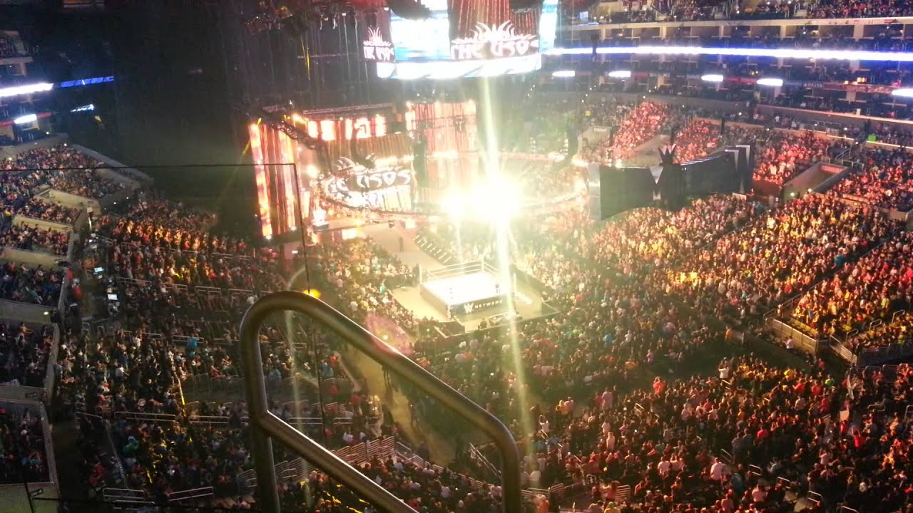 Wwe tickets staples center