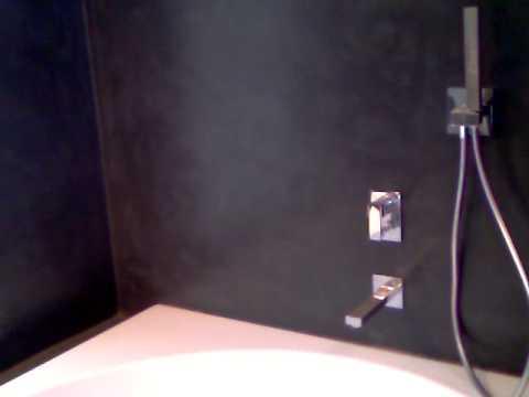 Bagno in resina nero antracite youtube