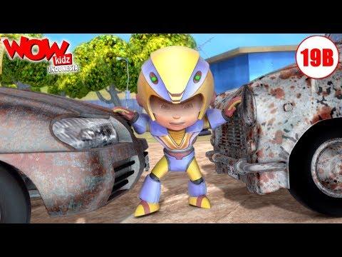 Kartun Bahasa Indonesia  Vir: The Robot Boy  Kartun Anak  Pencuri Mobil  WowKidz Indonesia