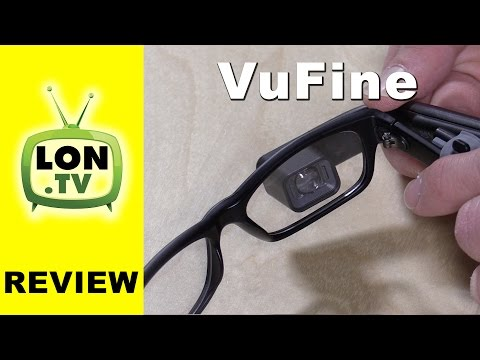 VuFine Review - Wearable HDMI Display For Action Cameras, etc.