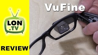 vufine review wearable hdmi display for action cameras etc