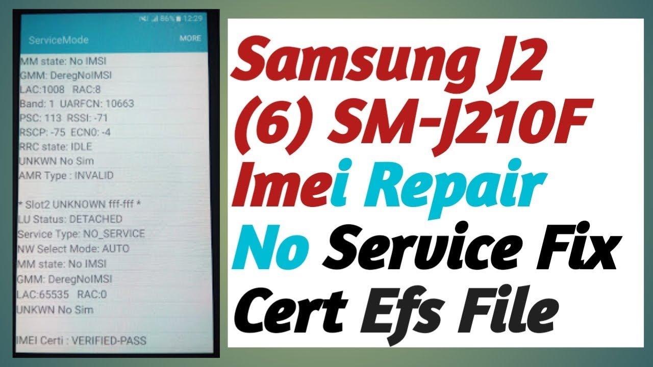 Samsung J210F J2 2016 J2 PRO IMEI Repair 100% Tested