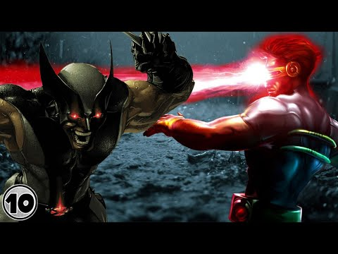 Wolverine VS Cyclops | Strongest Mutants | Superhero Showdown
