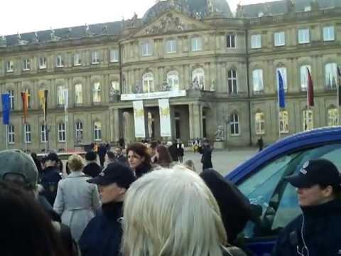 14.Jan 2012 Kretschmann lädt zum Neujahrsempfang - das Volk kocht