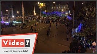 بالفيديو..إقبال كثيف من الطلاب لحضور سحور جامعة القاهرة برعاية