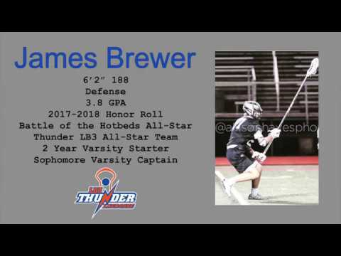 James Brewer (2020 Defense) 2018 Summer Highlights