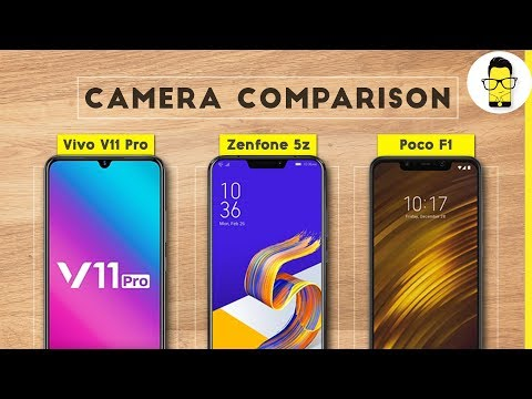 Vivo V11 Pro vs Asus Zenfone 5z vs Poco F1 Camera Comparison: it