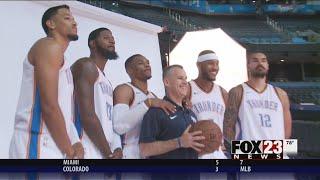 Thunder Media Day shows off new OKC roster