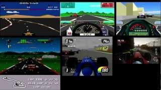 Evolution of F1 Games