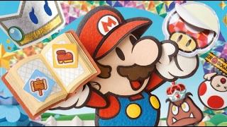 Paper Mario Color Splash #3 - Wii U - Gameplay em Português PT-BR