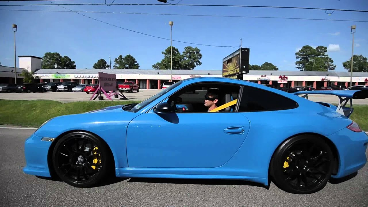 Porsche Gt3 Rs Blue Turquoise For Sale Full Awe Exhaust