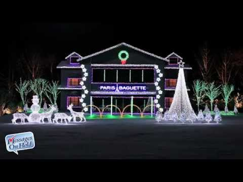 Paris Baguette  - Amazing Christmas Light Display