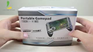 Combo phụ kiện 3 trong 1 hỗ trợ chơi Game mobile - Gamepad JL01
