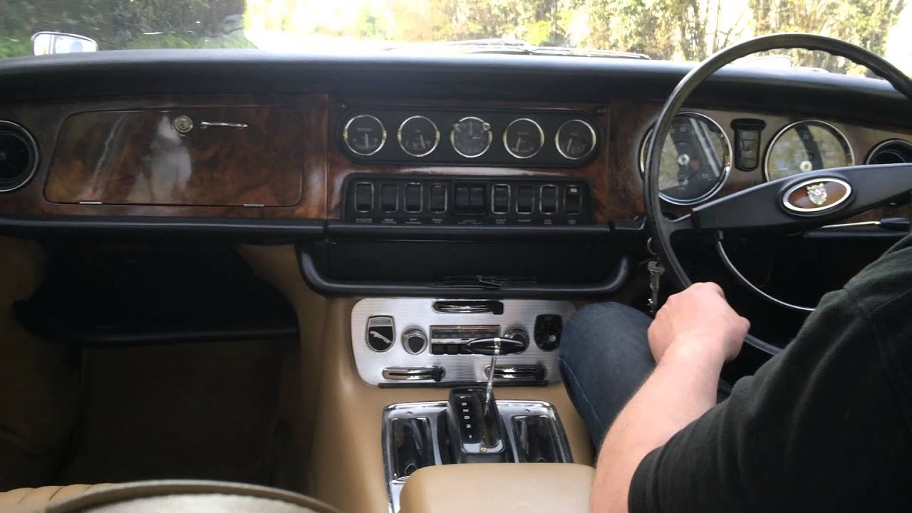 jaguar xj6 series 1 test drive bradley james classics. Black Bedroom Furniture Sets. Home Design Ideas