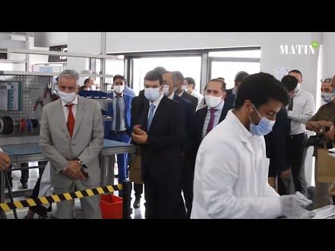 «iSmart» : Inauguration de la ligne de production de la borne de recharge pour véhicules électriques