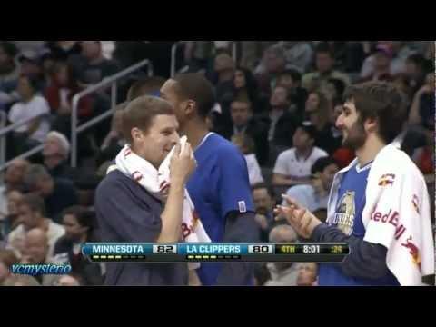 Derrick Williams 27pts vs Clippers (02.28.2012)- FG: 9/10, 3PT: 4/4