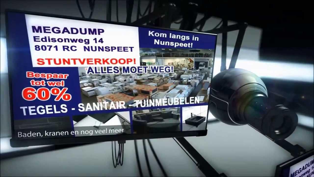 Tegels Badkamer Nunspeet : Megadump nunspeet complete badkamers en tegelvloeren youtube