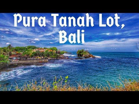 Tanah Lot Temple - An Amazing Sea Temple , Bali, Indonesia 🇮🇩
